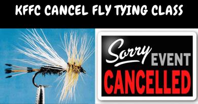 KFFC CANCELED   Fly Tying Class