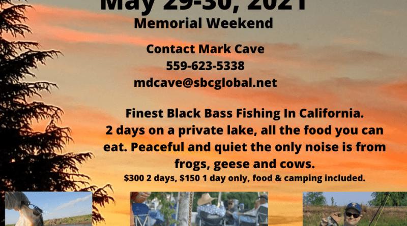 KFFC Kelsey Bass Outing 2021 May 29-30