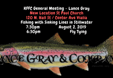 KFFC General Meeting – Lance Gray – New Location