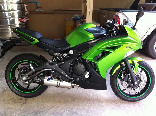 2012 ninja 650 exhausts kawasaki