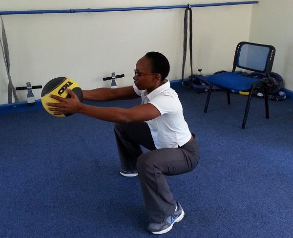 Hellen Masemo, Aspire Fitness