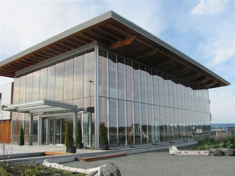 thermal glass curtain wall system