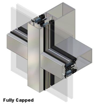 aa 100 50mm curtain wall system