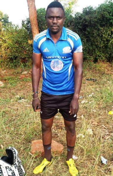 Footballer Bashir Kawooya yearns to achieve life dreams #Uganda Bashir Kawooya3