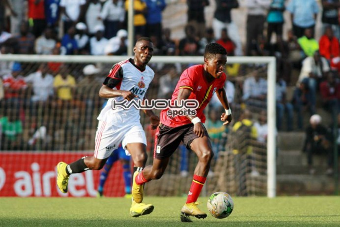 Sserunkuma nets brace as Uganda Cranes humble Kampala Region Select #Uganda jb allan okello uganda cranes 1