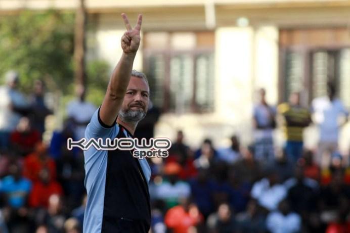 Sserunkuma nets brace as Uganda Cranes humble Kampala Region Select #Uganda jb sebastien desabre uganda cranes