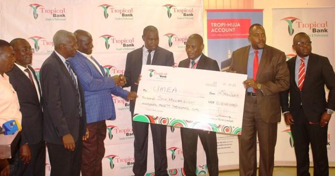 2019 UMEA Muslim Solidarity Games ignited with hefty financial package #Uganda UMEA Games 2019 get Tropical Bank money