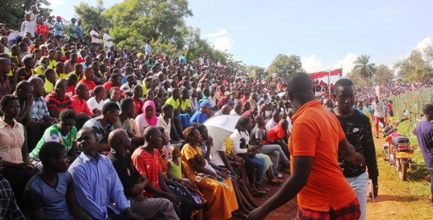 Jinja community wholesomely embraces the enticing copa 2019 football championship #Uganda Fans Copa 2019