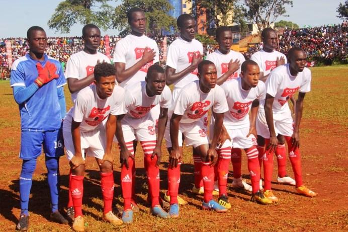 Tear Gas, Gun-shots mar Jinja SS' slim win over 10 man Standard High Zana #Uganda Standard High School Zana XI Vs Jinja SS