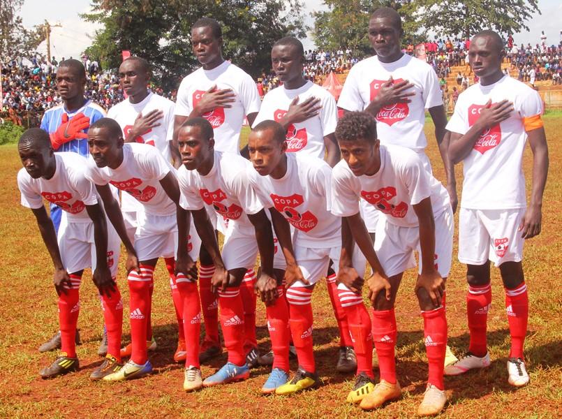 Standard High School Zana completes Wakiso trio to the Copa 2019 semi-finals #Uganda Standard High School Zana XI vs Royal Giants