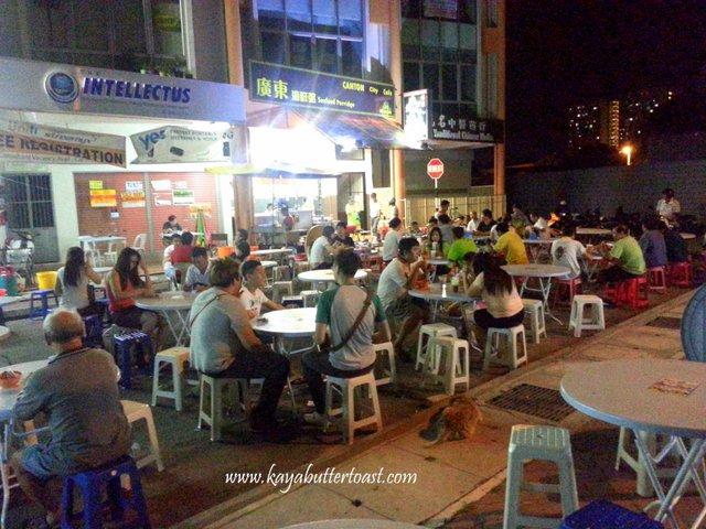 Hokkien Mee @ In Front of Butter & Olive Academy, Perak Road, Penang (4)
