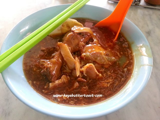 Kuan Yin Temple Hainan Lor Mee @ Hai Beng Cafe, Georgetown, Penang (6)