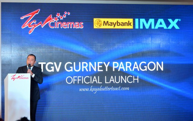 The Launching of TGV Gurney Paragon & Première Screening of The Amazing Spider-Man 2 (8)