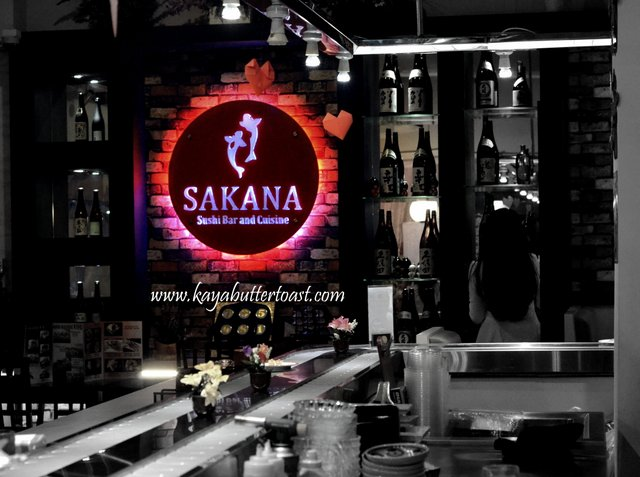 Sakana Sushi Bar and Cuisine @ Penang Road, Georgetown, Penang (1)