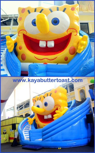 Celebrate Holiday With SpongeBob SquarePants in Gurney Paragon Mall (12)
