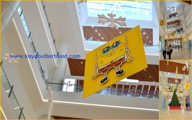 Celebrate Holiday With SpongeBob SquarePants in Gurney Paragon Mall (2)