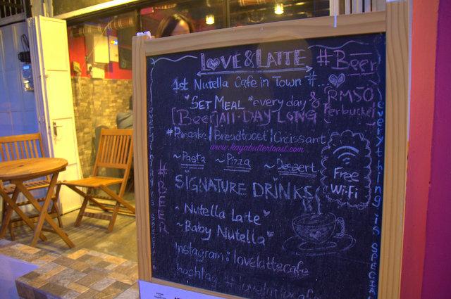 Love & Latte (& Nutella Too!) @ Love Lane, Georgetown, Penang (3)