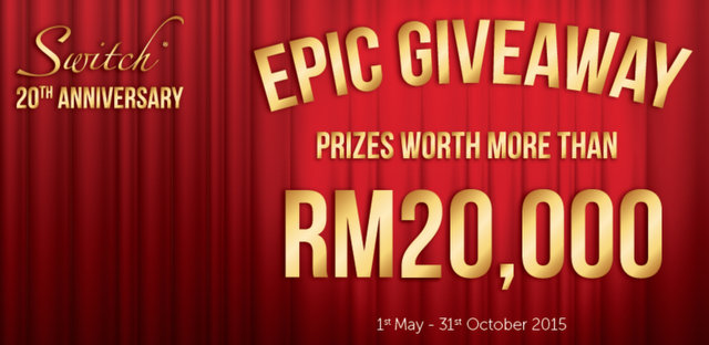 Switch Epic Giveaway 2015 for its 20th Anniversary (1)