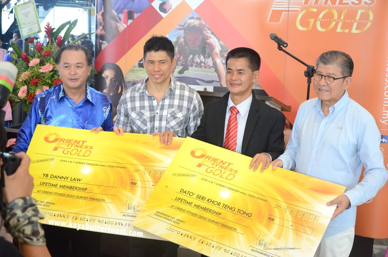 The Launching of Orient Fitness Gold @ Gurney Paragon Mall, Gurney Drive, Penang (21)