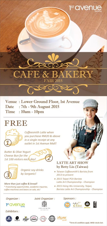Cake & Bakery Fair @ 1st Avenue, Georgetown, Penang