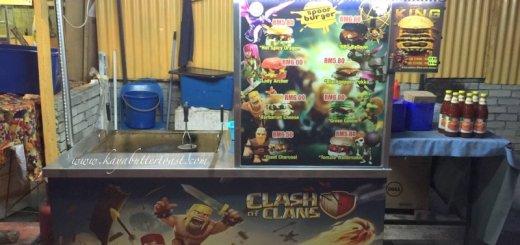 Clash of Clan Spoof Burger aka COC Burger @ Jalan Lembah Permai, Tanjung Bungah, Penang (1)