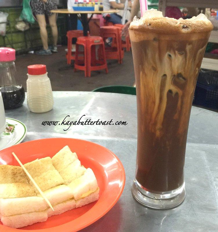 Coffee Stall No. 67 Kaya Butter Toast & Nasi Lemak & Kopi Peng @ Batu Lanchang Market, Penang (4)