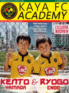 Ryogo and Kento feature copy