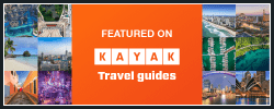 Featured on Kayak Travel guides