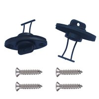 2 Kayak Canoe Boat Course Thread Drain Plug with Screws