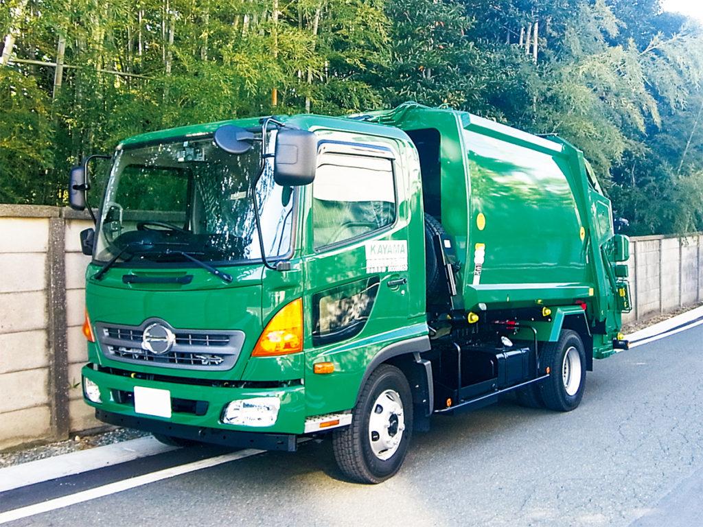 産業廃棄物収集・処分 パッカー車
