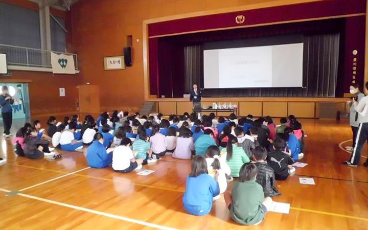 豊川市 小学校 環境授業