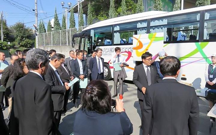 東京産業廃棄物協会会員 豊川工場 見学
