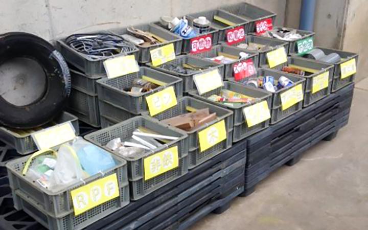 廃棄物処理分別 見える化
