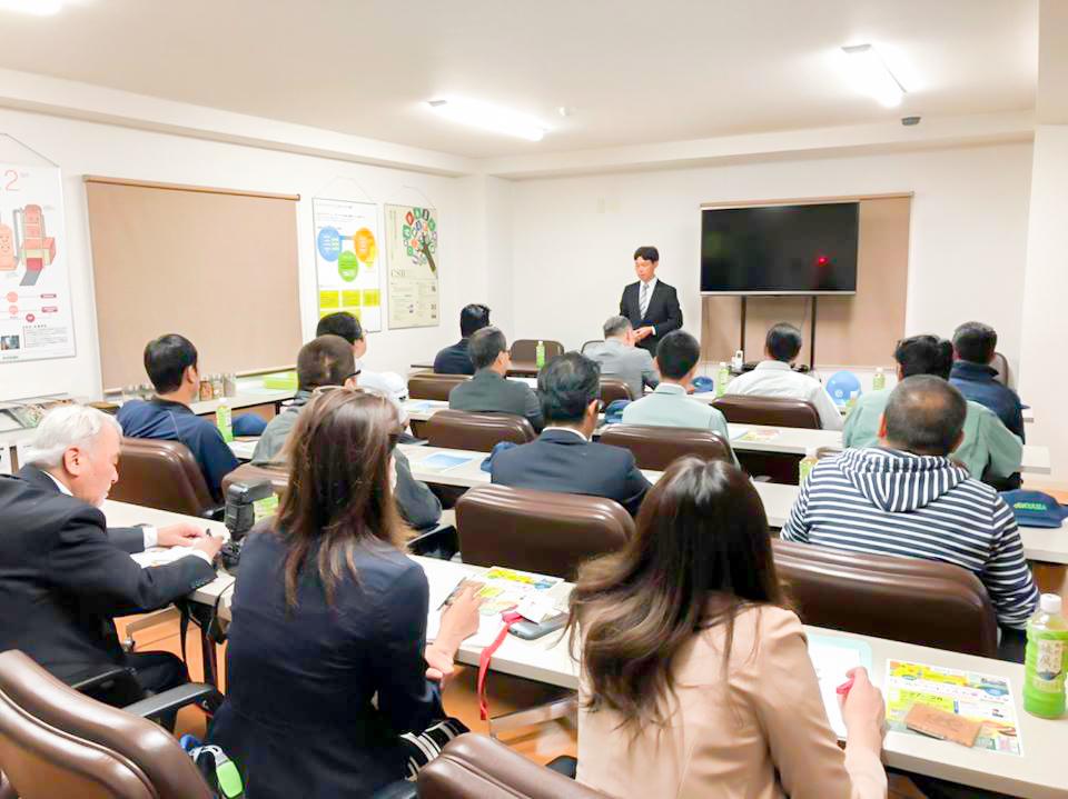 愛知県産業廃棄物協会様 工場見学
