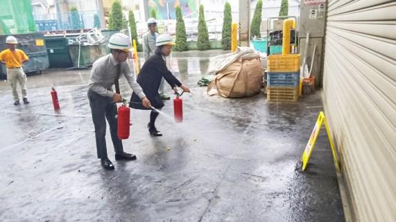 豊川市 ゴミ処分 産業廃棄物処理 防火訓練