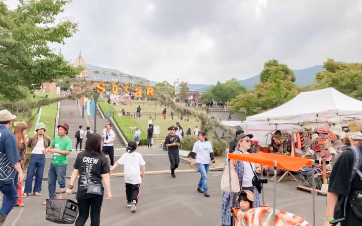 中津川 THE SOLAR BUDOKAN 岐阜県 フェス 音楽