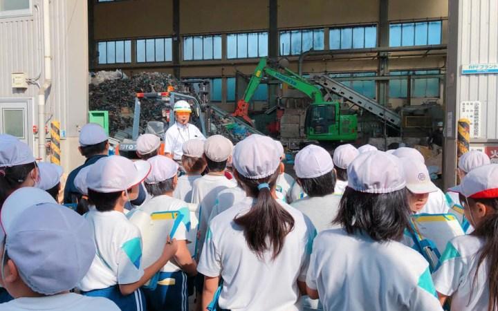 愛知県 豊川市 小学校 工場見学 CSR活動