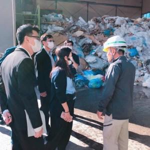 廃棄物処理 チェンマイ大学 ユニド視察 タイ環境省