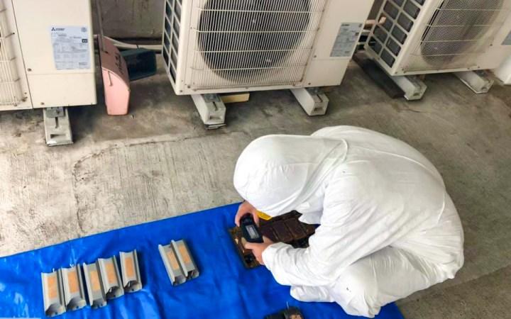 愛知県 名古屋市 PCB分別 荷姿登録作業 PCB調査 PCB処分