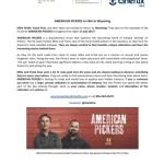 American Pickers coming to Wyoming in July!