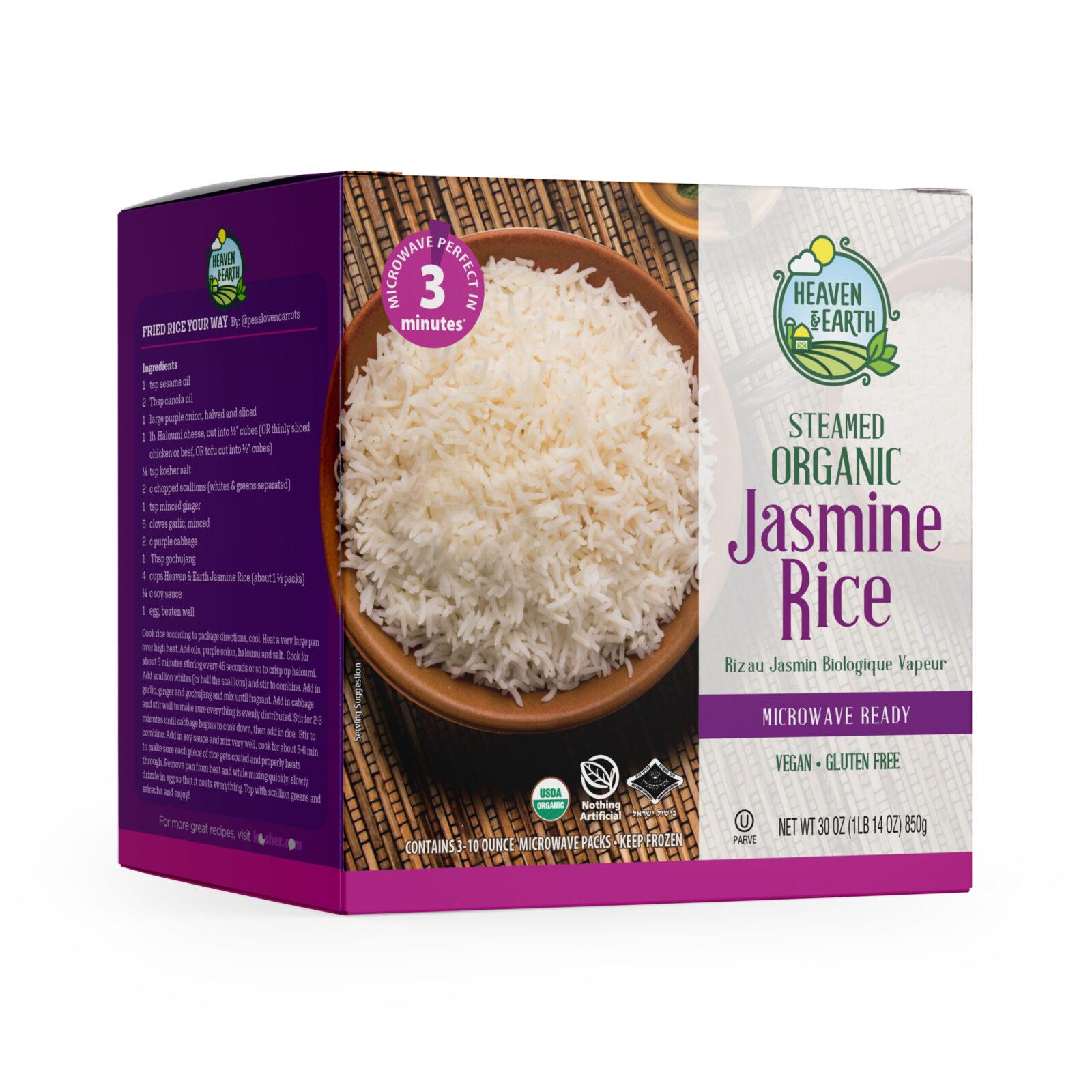 heaven earth organic jasmine rice