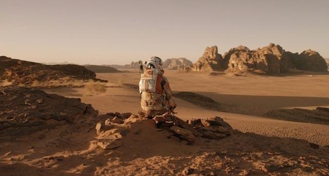 Mars'ta Yalnız