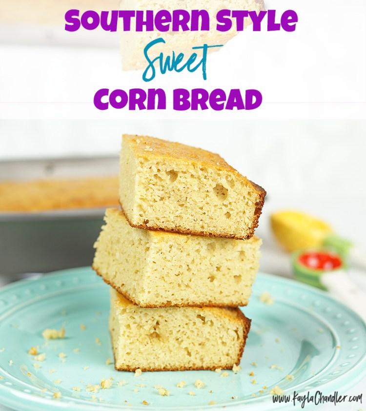 Paleo Gluten Free Corn Bread