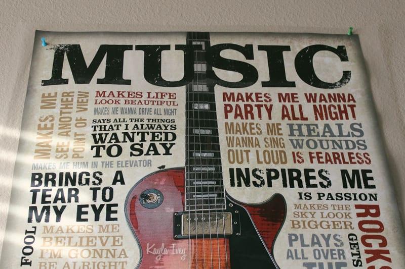 Music Poster  >>>>  kaylagraphics.com