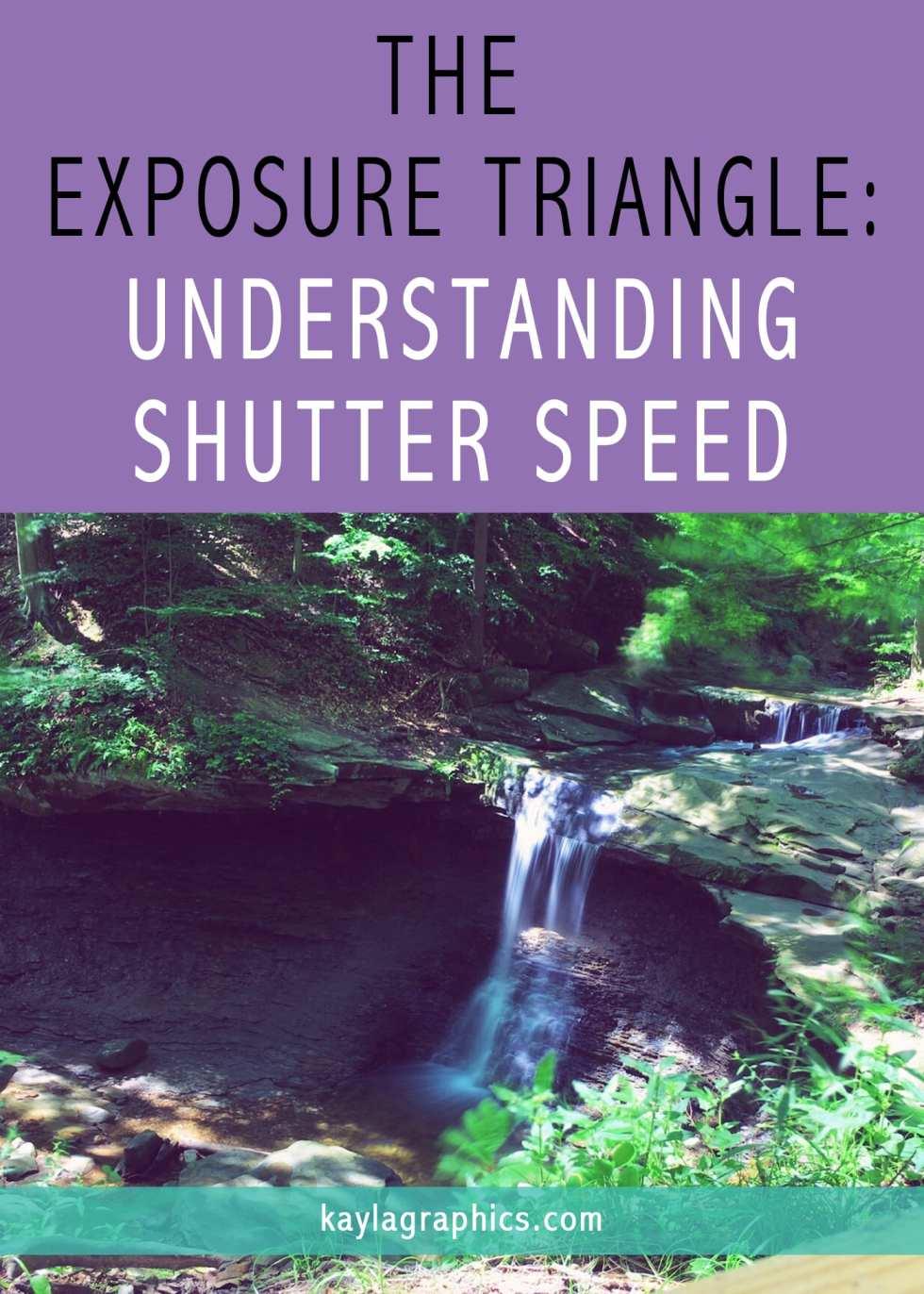 THE EXPOSURE TRIANGLE UNDERSTANDING SHUTTER SPEED