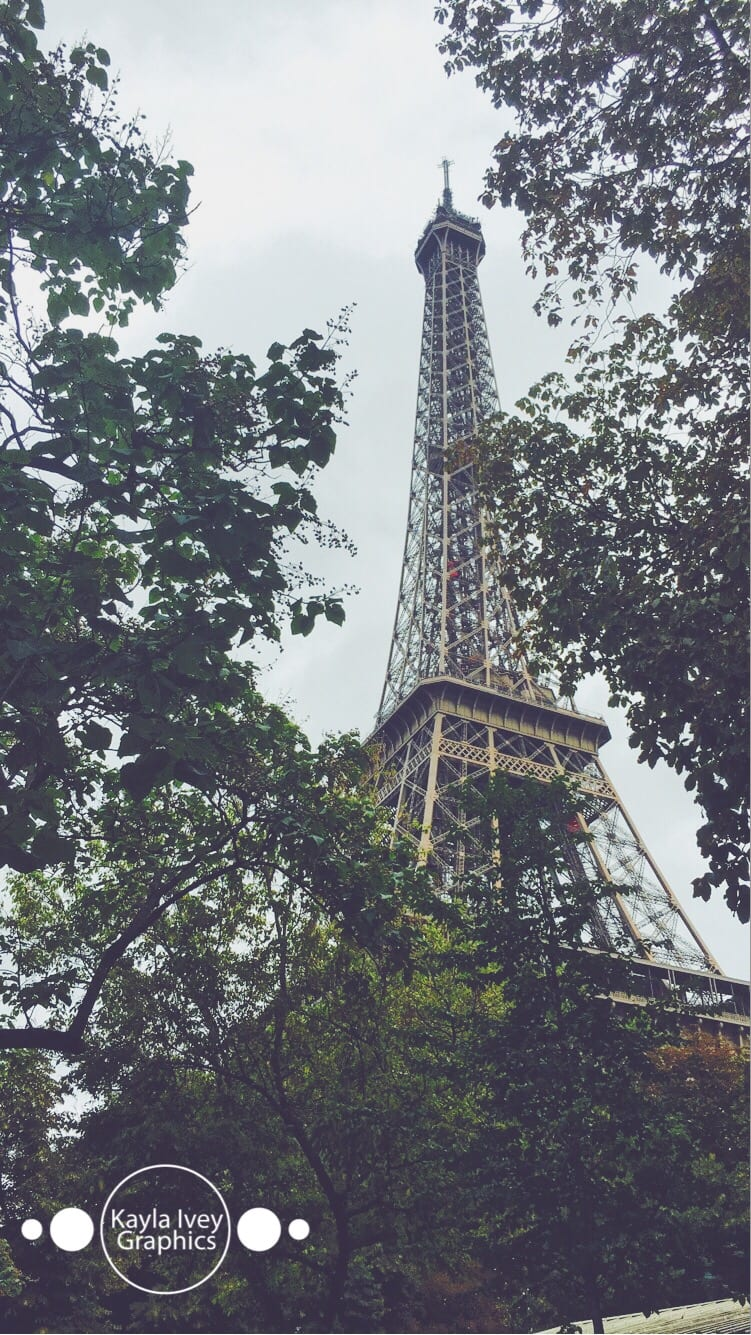 Eiffel Tower Travel Photography