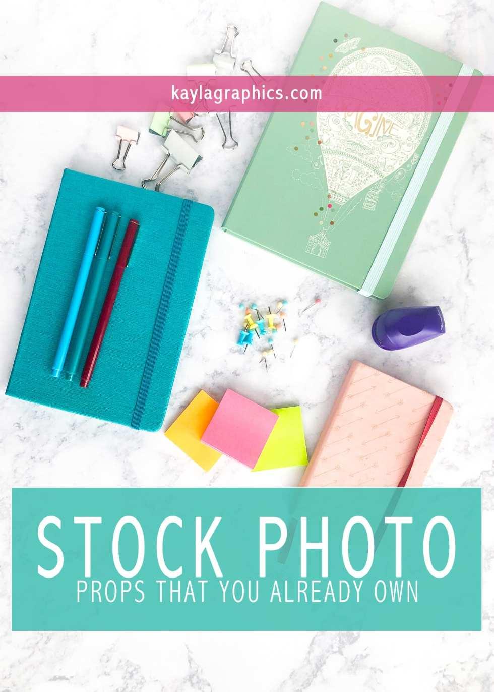 Stock Photo Props You Already Own