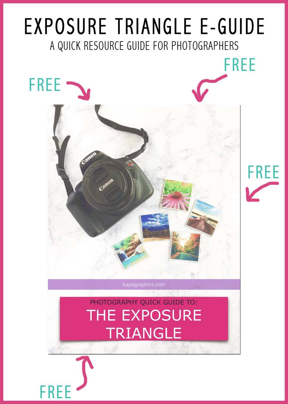 Free Exposure Quick Guide for Photographers