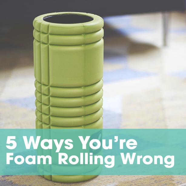 foam rolling mistakes