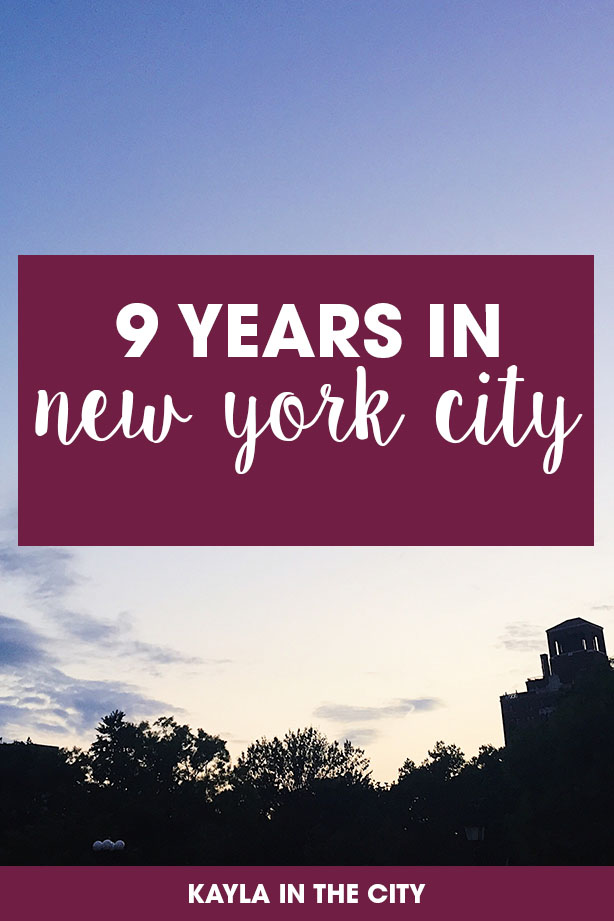 reflections on 9 years in new york | new yorker | new york native